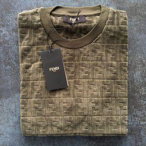 Fendi Casual T-shirt Men's short sleeve